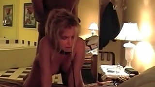 Cuckold sissys wife doggy style sex with BBC