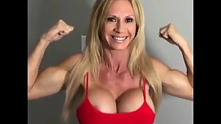 Brooke Tyler! Muscular Mature Blonde & BBC Queen PMV!