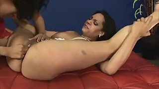 Two Sexy Lesbian Breast I A Swing