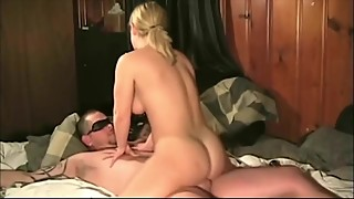 Blonde wife with a swinger couple
