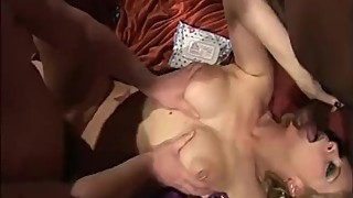 Amateur gangbang party from UK swingers club