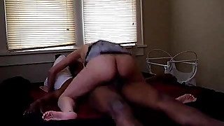 April wife Threesome with the black bull